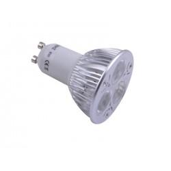 GU10 lamp LED 3x1w